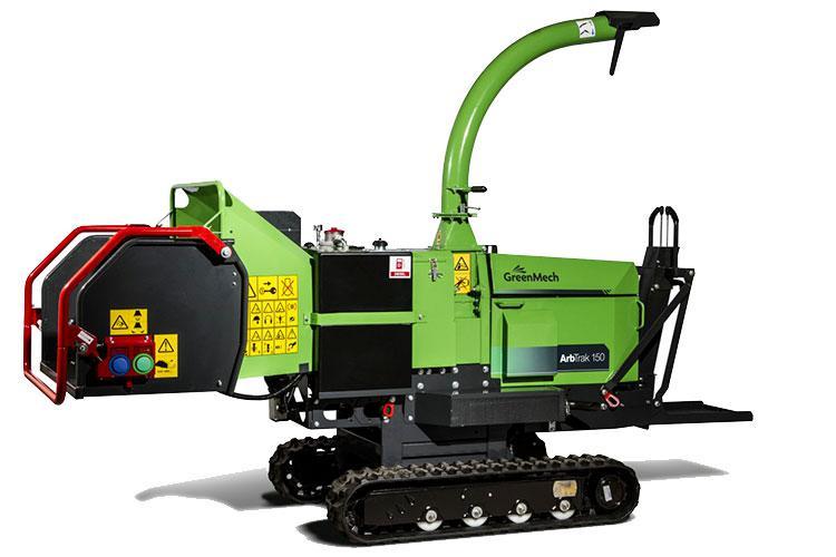 VEGUEMAT - Vente de matériel neuf - Broyeur GreenMech ArbTrak 150