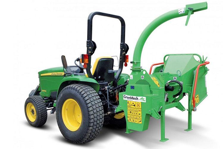 VEGUEMAT - Broyeurs de branches et de végétaux professionnels - GreenMech - ArboMaster 150 PTO