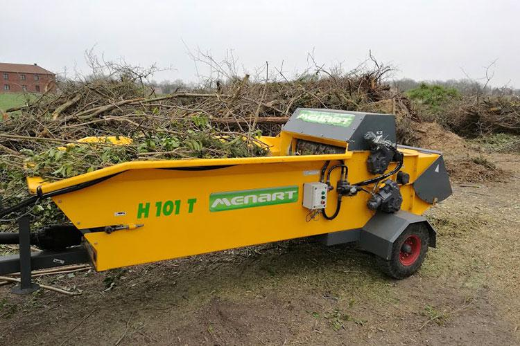 VEGUEMAT - Compostage & Recyclage - Broyeurs agricoles - Broyeurs de déchets verts - Ménart - H101T