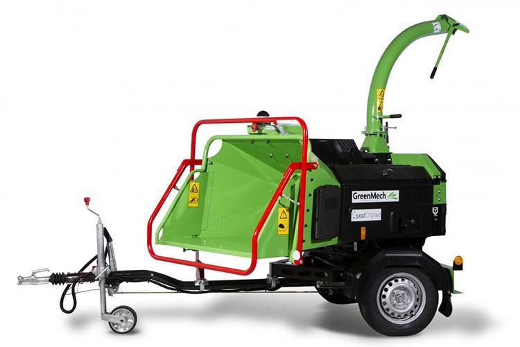 VEGUEMAT - Broyeurs professionnels de branches et de végétaux - GreenMech - QuadChip 160
