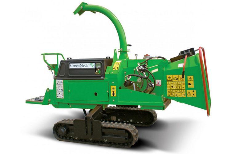 VEGUEMAT - Broyeurs de branches et de végétaux professionnels - GreenMech - SAFE-Trak 16-23