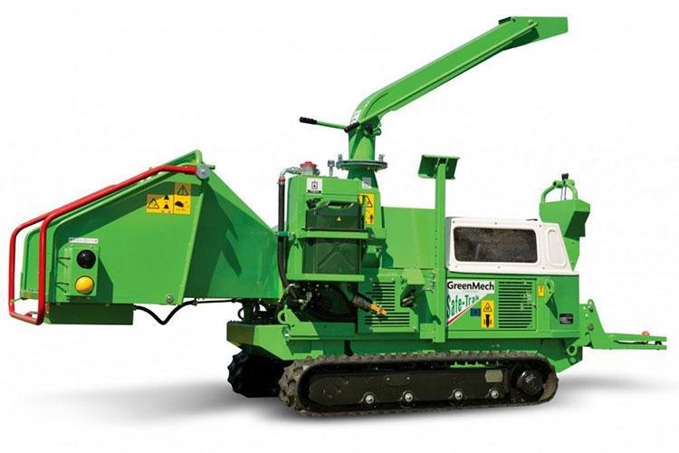 VEGUEMAT - Broyeurs professionnels de branches et de végétaux - GreenMech - SAFE-Trak 19-28