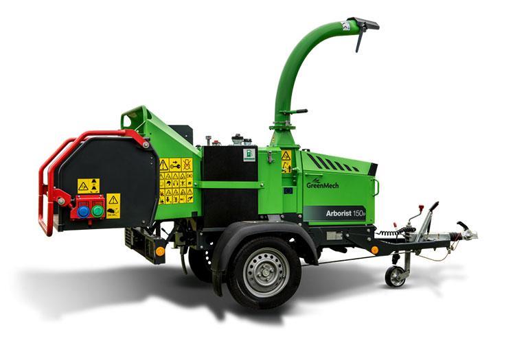 VEGUEMAT - Broyeurs professionnels de branches et de végétaux - GreenMech - Arborist 150P