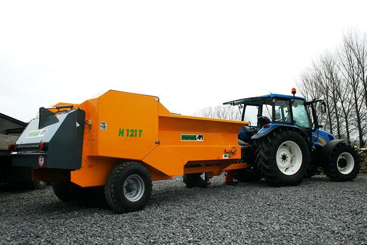 VEGUEMAT - Compostage & recyclage - Broyeur agricole à déchets verts - MENART H121 T