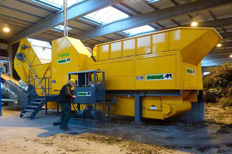 VEGUEMAT - Compostage & recyclage - Broyeur agricole à déchets verts - MENART P160 ES