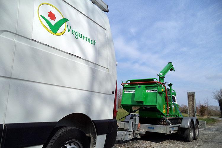Veguemat - Broyeur de branches à disposition pour une démonstration