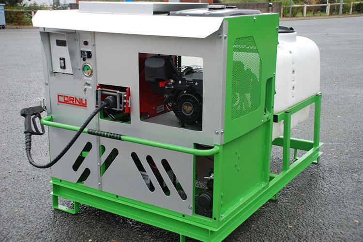 VEGUEMAT - Désherbage alternatif - Cornu - Alterno thermique - Désherbage eau chaude