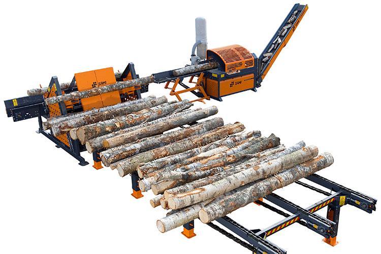 VEGUEMAT - Vente de matériel neuf - Forestier - Combiné bois scieur-fendeur SAMI