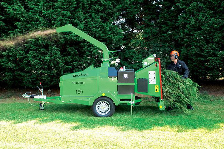 VEGUEMAT - Location de broyeurs de branches et de végétaux - Arborist 190 - GreenMech