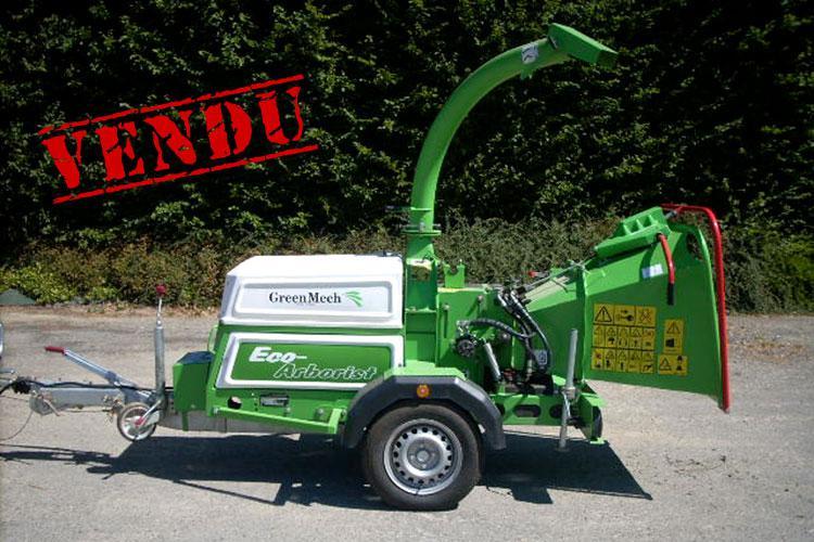 VEGUEMAT - Vente de matériel d'occasion - Broyeur GreenMech Arborist 16-23